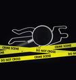 crime investigation concept vector image