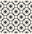 floral seamless pattern black and white vector image