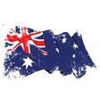 Grange Flag of Australia vector image vector image