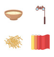 leisure industrial textiles and other web icon vector image