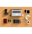 Office Workplace Elements vector image