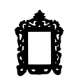 Old photo frame vector image