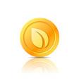 peercoin symbol icon sign emblem vector image vector image