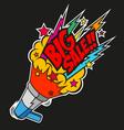 Loudspeaker big sale vector image