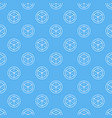 ar blue seamless pattern or background vector image