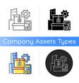 assets management icon