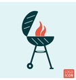 Barbecue BBQ icon vector image vector image