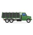 cargo truck concept 12 vector image vector image