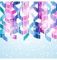 Celebration carnival background design with vector image vector image