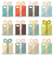Flat Design Gift Boxes Set