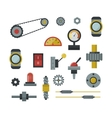 Machine parts vector image vector image