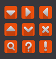 soft icon set vector image