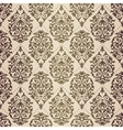 Gold patina baroque pattern vector image