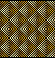 golden seamless abstract geometric pattern vector image