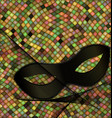 mask an patterned background vector image