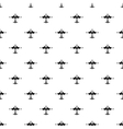 Military fighter aircraft pattern simple style vector image vector image