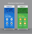modern travel roll up banners vector image