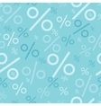 Percentage signs seamless pattern backgrounds vector image
