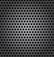 seamless circle metal surface texture vector image