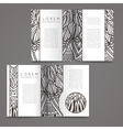Set of design templates Magazines in vector image vector image