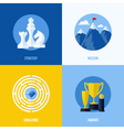 Concepts for strategy mission challenge awards vector image
