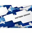 abstract modern pattern of gradient blue vector image vector image