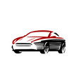 car logo automotive concept in abstract style vector image vector image