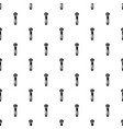 lock zip icon simple style vector image vector image