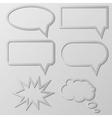 Speech Balloon vector image vector image