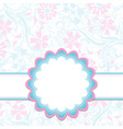 template greeting card eps10 vector image vector image