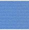 Seamless texture of blue denim diagonal hem vector image