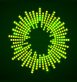 abstract sound audio waves equalizer wave circle vector image