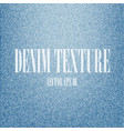 blue denim texture background vector image vector image