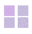 bright cute set patterns with hearts vector image vector image