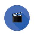 clipper board flat icon vector image