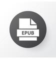 epub icon symbol premium quality isolated vector image vector image