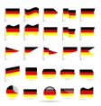 flags of Germany vector image