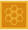 Icon image honeycomb 1 vector image