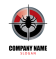 pest control logo vector image