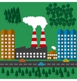 plant ecology vector image