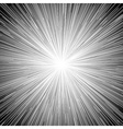 Sun Burst Blast Background Black vector image
