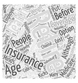 What Happens When I Retire Word Cloud Concept vector image vector image