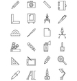 Work design icon set