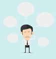 Businessman Dreaming vector image