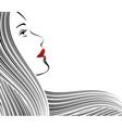 face strip black vector image