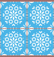 azulejo tiles seamless pattern inspired vector image vector image