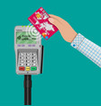 nfc payments concept vector image vector image