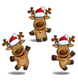 Santas Elks vector image vector image