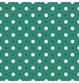 Seamless turquoise vintage pattern vector image vector image
