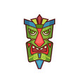 tribal mask colorful traditional face masque vector image vector image